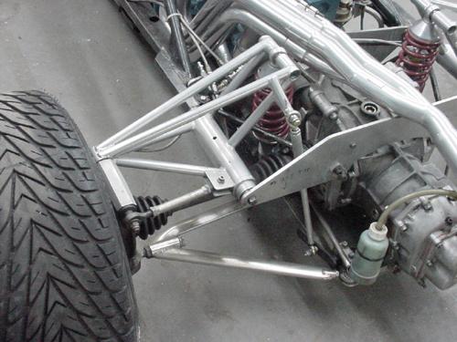 Race Car Suspension Fabrication Parts
